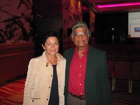 Dr. Amit Goswami Ph.D - můj velký vzor a učitel, Consciousness & Human Evolution Conference, Londýn 2014