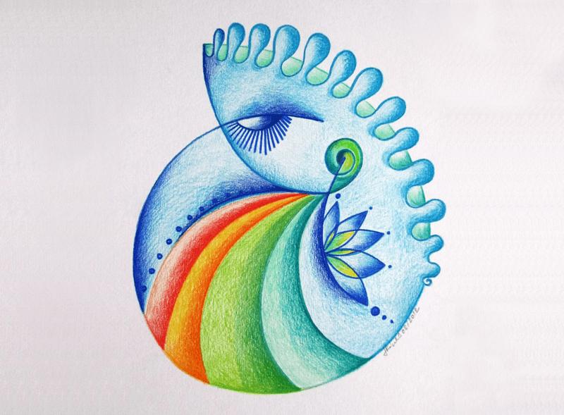 Kurz Automatická kresba - intuitivní kresba // v-laska.com