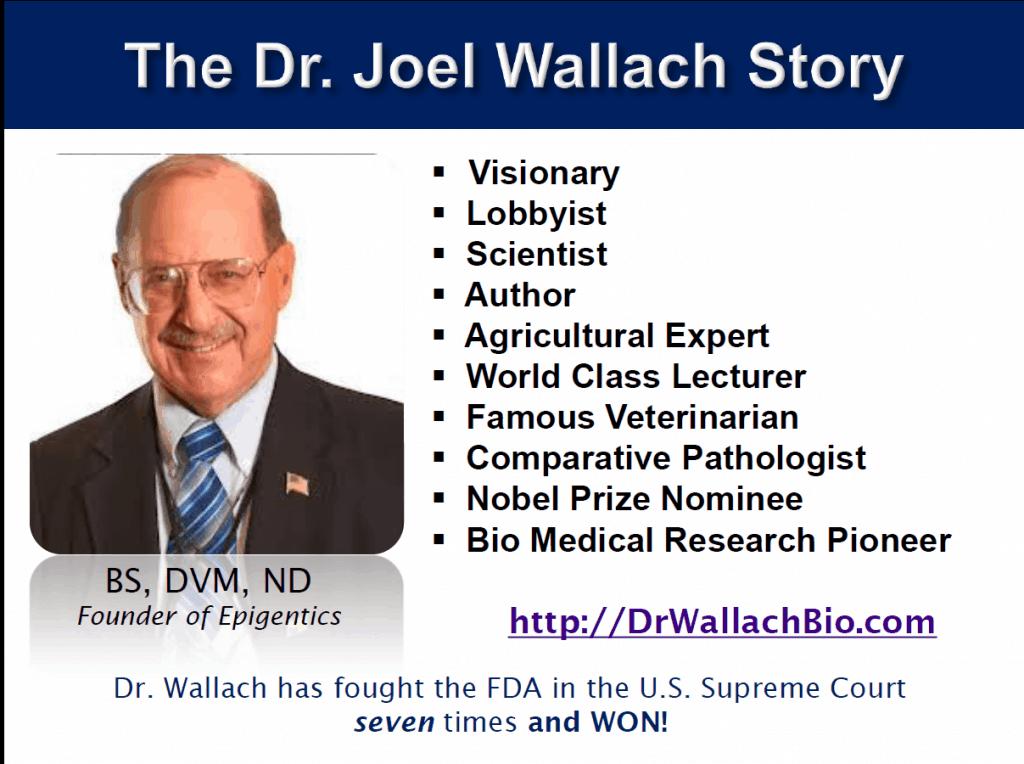 Dr.Joel Wallach scientist