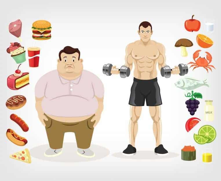 obezita nebo zdravi