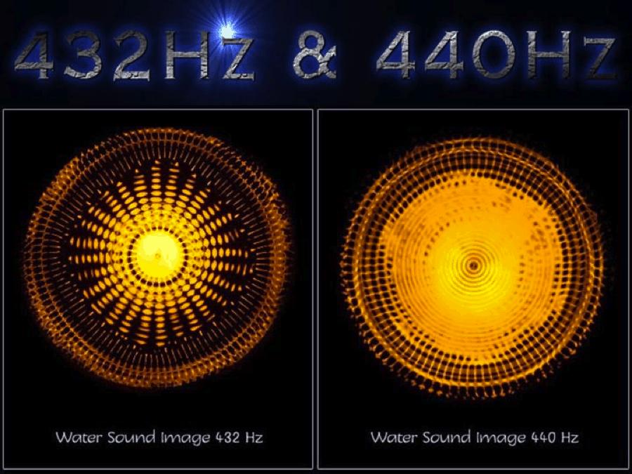 432 - 440 Hz